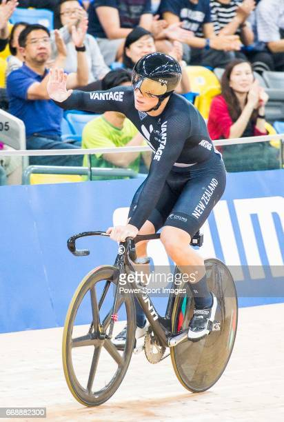 Ethan Mitchell of New Zealand competes in the Men's Sprint Finals 2nd Race during 2017 UCI World Cycling on April 15 2017 in Hong Kong Hong Kong