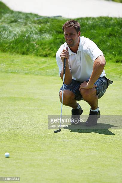 Ethan Moreau attends the OMEGA Trophy Golf Outing at Trump National Golf Club on May 15 2012 in Palos Verdes Estates California