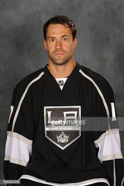 Ethan Moreau of the Los Angeles Kings poses for his official headshot for the 20112012 season on September 16 2011 at Toyota Sports Center in El...