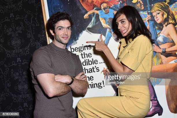 Ethan Peck and Actress Melissa Jackson attend Neon hosts the after party for the New York Premiere of 'Ingrid Goes West' at Alamo Drafthouse Cinema...
