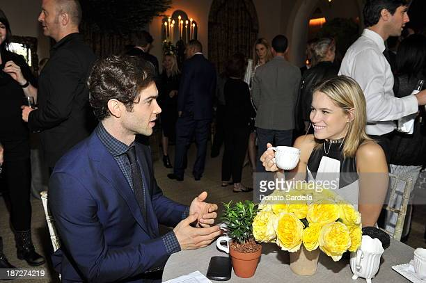 Ethan Peck and Cody Horn attend the 2013 CFDA/Vogue Fashion Fund Event Presented by thecornercom and Supported by Audi Living Proof and MAC Cosmetics...