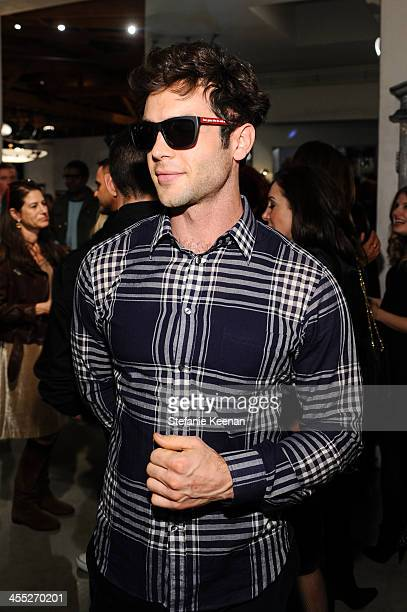 Ethan Peck attends Freeway Sunglass Reception At Maxfield on December 11 2013 in Los Angeles California