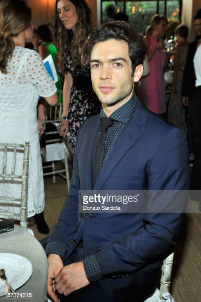 Ethan Peck attends the 2013 CFDA/Vogue Fashion Fund Event Presented by thecornercom and Supported by Audi Living Proof and MAC Cosmetics at Chateau...