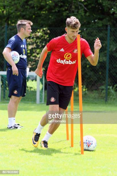 Ethan Robson of Sunderland during a preseason training camp on July 4 2017 in Obertraun Austria
