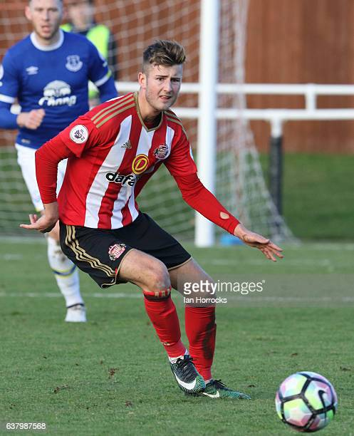 Ethan Robson of Sunderland during the Premier League 2 match between Sunderland and Everton at the Hetton Centre on January 8 2017 in Sunderland...