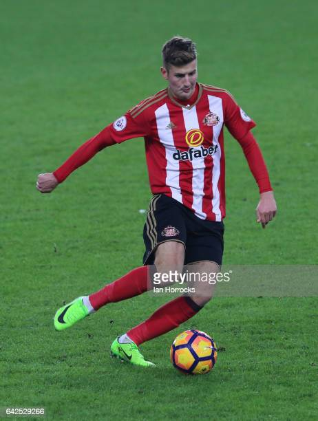 Ethan Robson of Sunderland during the Premier League International Cup Quarter Final match between Sunderland U23 and Athletic Bilbao U23 at the...