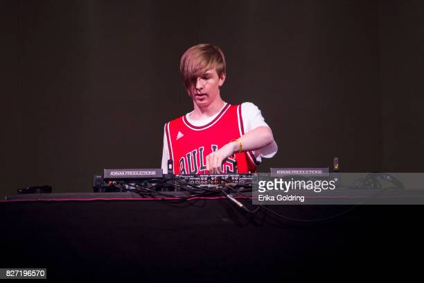 Ethan Snoreck aka Whethan performs during Lollapalooza at Grant Park on August 6 2017 in Chicago Illinois