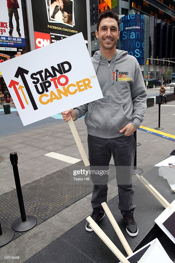 Ethan Zohn attends the Stand Up to Cancer Times Square News Year's Eve initiative launch at Duffy Square on November 30, 2010 in New York City.