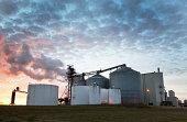 A midwestern ethanol facility.
