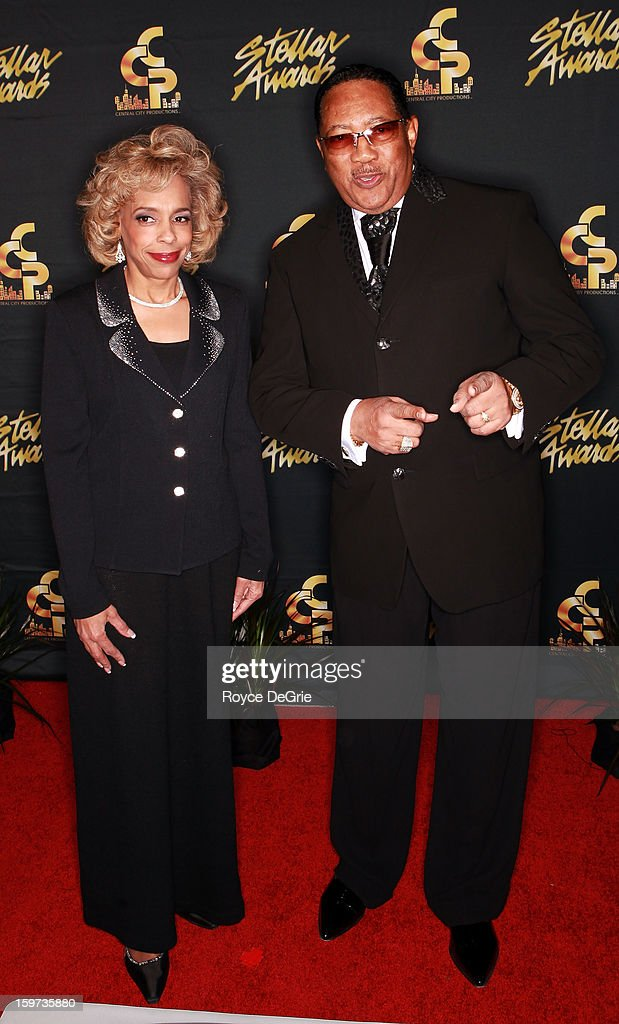 Ethel Jones and Dr. Bobby Jones arrive to the 28th Annual Stellar Awards at Grand Ole Opry House on January 19, 2013 in Nashville, Tennessee.