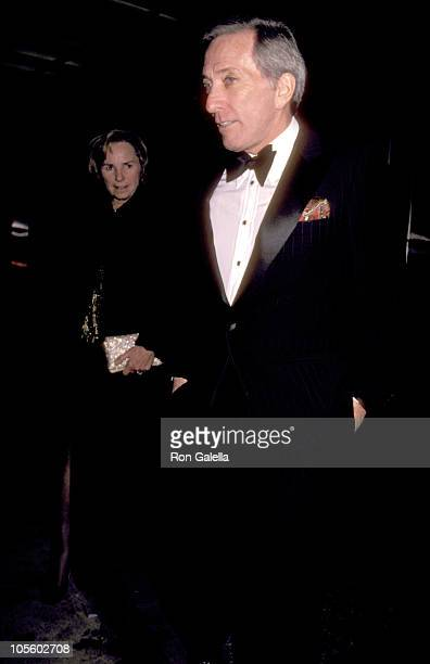 Ethel Kennedy and Andy Williams during Dinner for the Kennedy Center Honorees December 3 1983 at State Department in Washington DC New York United...