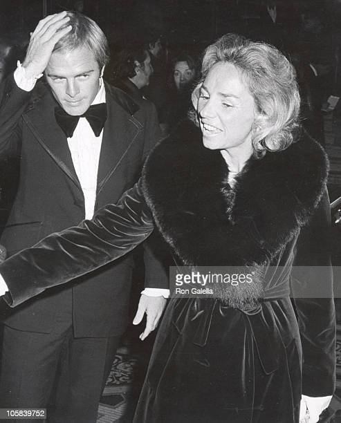 Ethel Kennedy and Guest during 1st Gala Benefiting the American Indian Development Association at Starlight Room at the Waldorf Hotel in New York New...