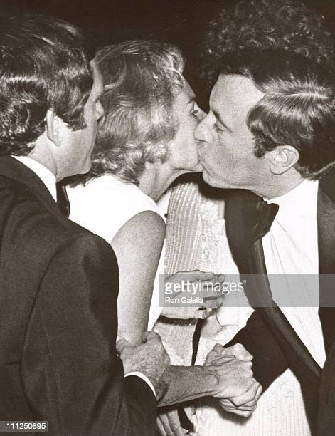 Ethel Kennedy David Frost during Friars Club Tribute to Alan King at Waldorf Astoria Hotel in New York City New York United States