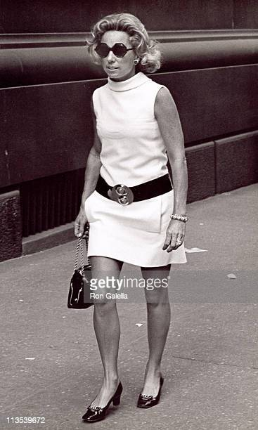 Ethel Kennedy during Ethel Kennedy Walking on 5th Avenue September 18 1970 at 5th Avenue in New York City New York United States