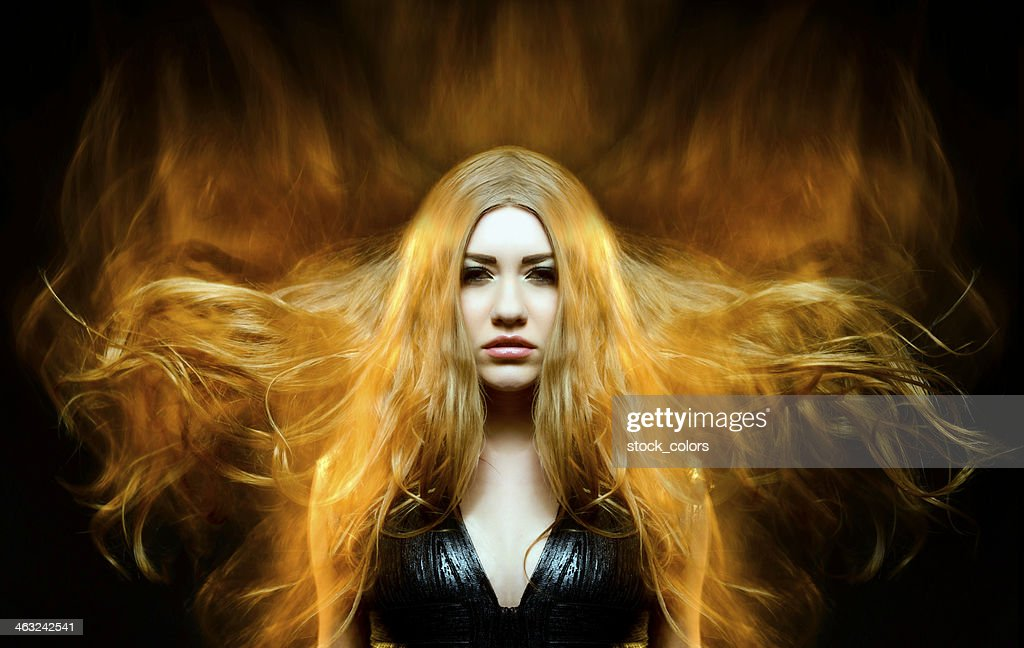ethereal fire : Stock Photo