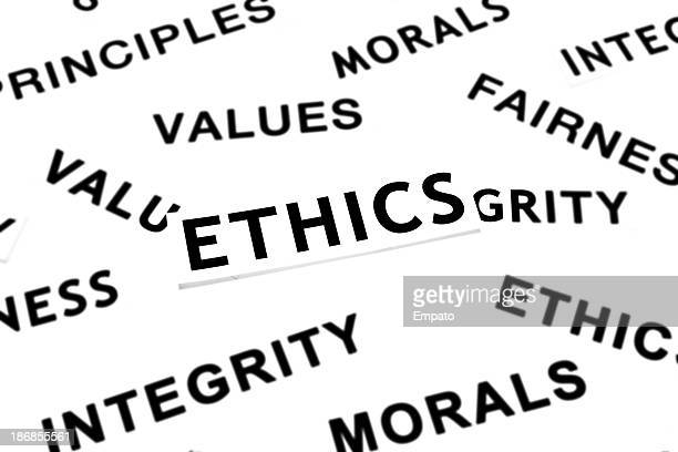 Ethics and related words.