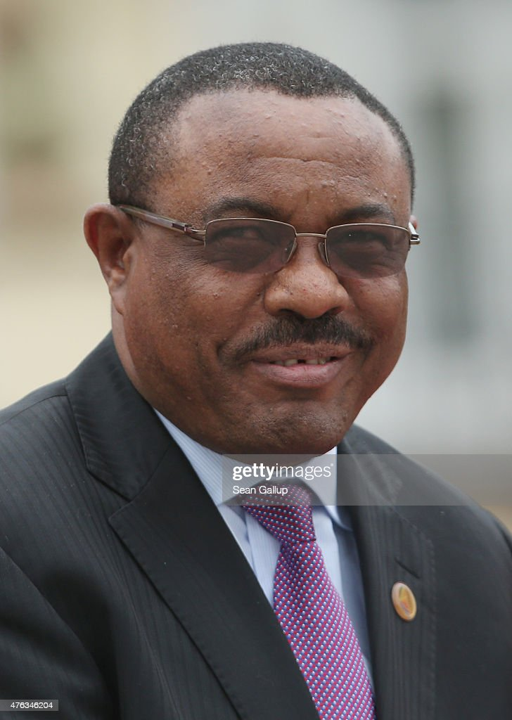 Ethiopian Prime Minister <a gi-track='captionPersonalityLinkClicked' href=/galleries/search?phrase=Hailemariam+Desalegn&family=editorial&specificpeople=7752700 ng-click='$event.stopPropagation()'>Hailemariam Desalegn</a> attends the second day of the summit of G7 nations at Schloss Elmau on June 8, 2015 near Garmisch-Partenkirchen, Germany. In the course of the two-day summit G7 leaders are scheduled to discuss global economic and security issues, as well as pressing global health-related issues, including antibiotics-resistant bacteria and Ebola.