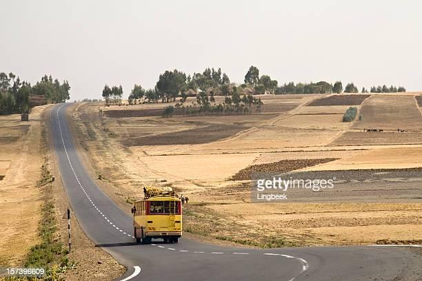 Éthiopien bus public