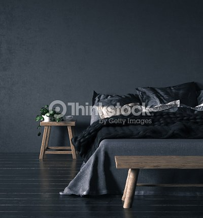 Ethnic bedroom interior : Stock Photo