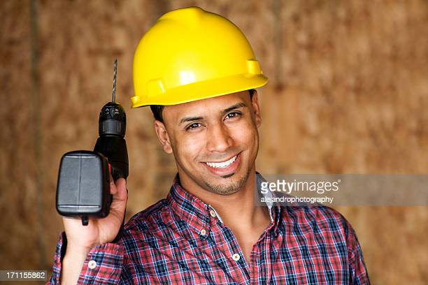 ethnic construction worker