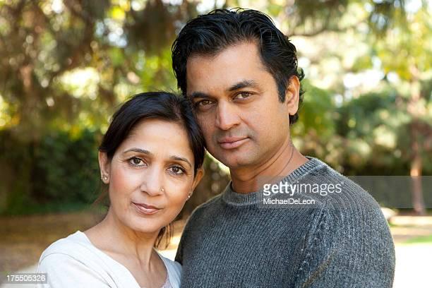 Ethnic couple