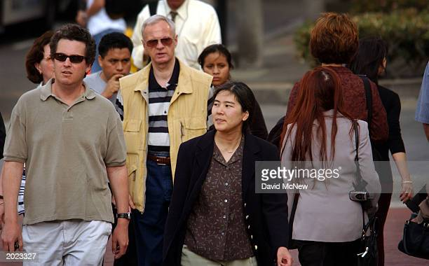 Ethnic diversity is the norm among downtown pedestrians on May 22 2003 in Los Angeles A Census Bureau survey released May 19 reports that about 782...