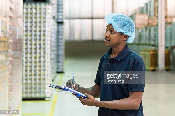 民族工場労働者予約ノートにアルミニウム工場