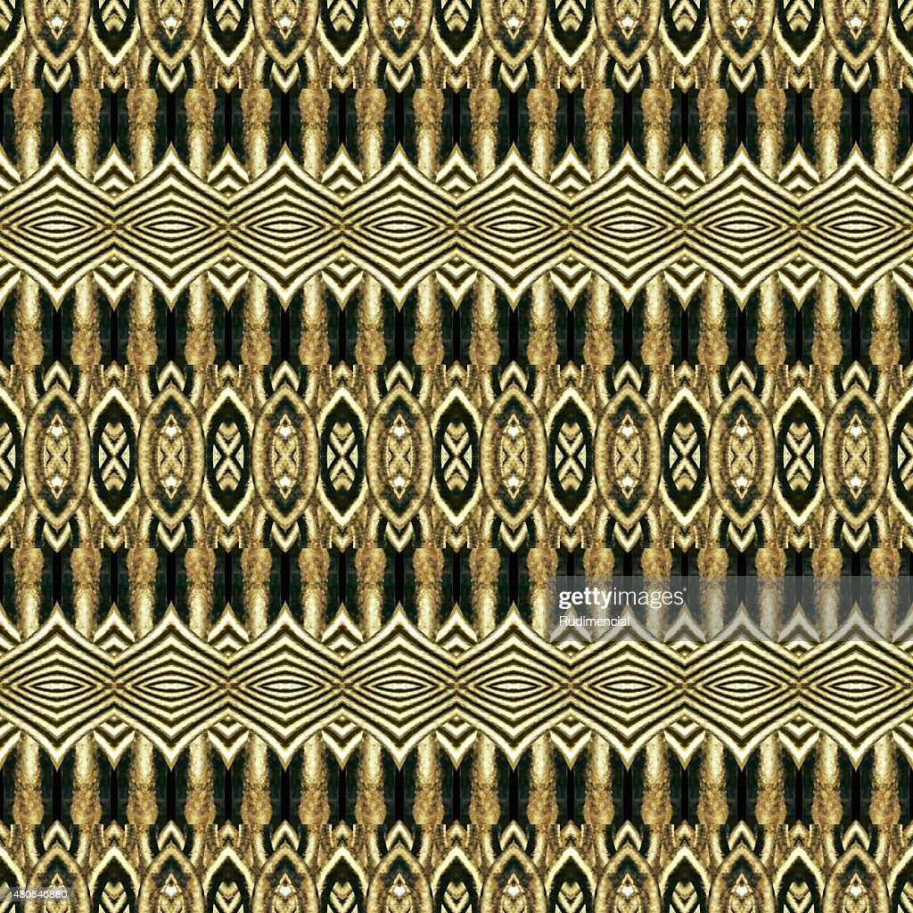 Ethnic Geometric Artwork Pattern : Stock Photo