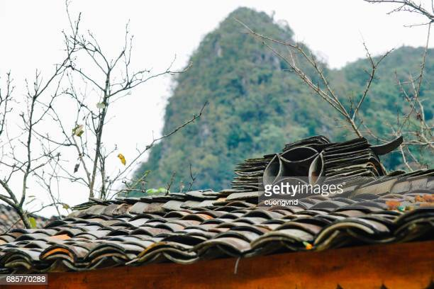 Ethnic house in Ha giang province, Vietnam