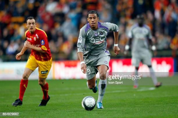 Etienne CAPOUE Lens / Toulouse 10eme journee de Ligue 1 Stade Felix Bollaert Lens