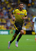 Etienne Capoue of Watford during the Barclays Premier League match between Watford and West Bromwich Albion at Vicarage Road on August 15 2015 in...