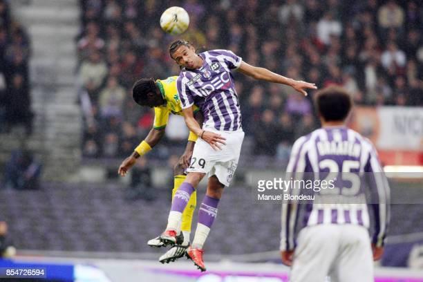 Etienne CAPOUE Toulouse / Nantes 31eme journee de Ligue 1 Stadium de Toulouse