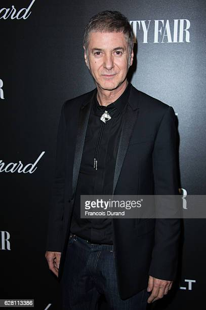 Etienne Daho attends the Vanity Fair Dinner With Chopard In Honor To The Most 50 Influential French Personalities In The World at Hotel Salomon de...