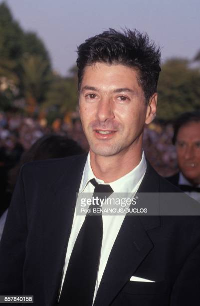 Etienne Daho au 45eme Festival de Cannes le 15 mai 1992 a Cannes France