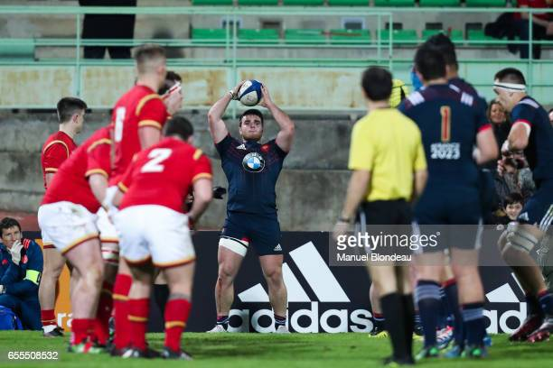 Etienne Fourcade of France during the RBS Six Nations match between France U20 and Wales U20 on March 17 2017 in Montauban France