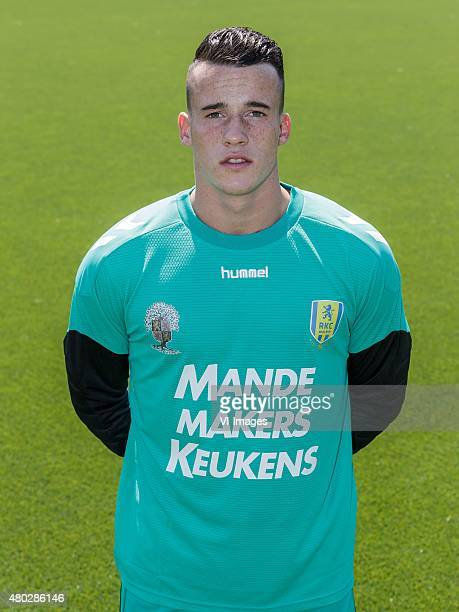 Etienne Vaessen during the team presentation of RKC Waalwijk on July 10 2015 at the Mandemakers stadium in Waalwijk The Netherlands