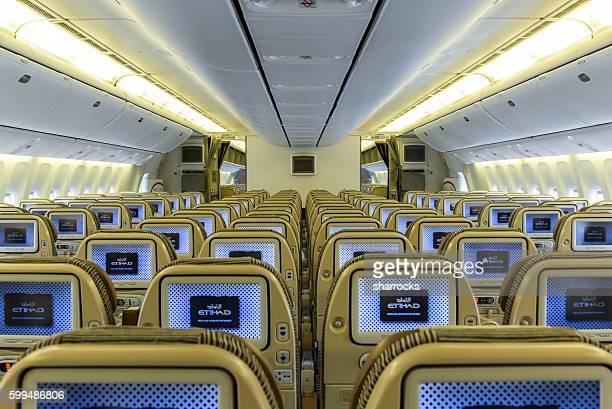 Etihad aircraft interior