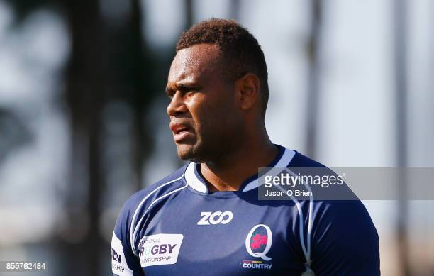 Eto Nabuli during the round five NRC match between Queensland Country and Melbourne at Bond University on September 30 2017 in Brisbane Australia