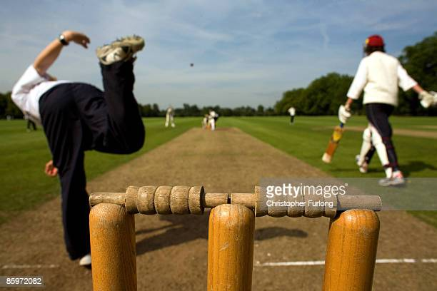 Eton boys play cricket on the fields of Eton Colleg on July 26 2007 in Eton England An icon amongst private schools since its founding in 1440 by...