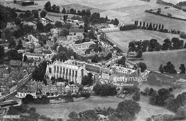 Eton College Berkshire 19241926 A print from Hutchinson's Britain Beautiful edited by Walter Hutchinson volume I 19241926