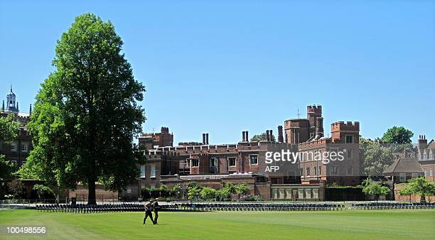 Eton school is pictured in Eton west of London on May 24 2010 Britain's new Prime Minister David Cameron has revived a timehonoured tradition by...
