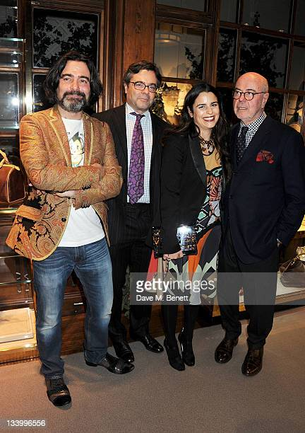 Etro Creative Director of Menswear Kean Etro Creative Director of Homes Textiles Jacopo Etro Creative Director of Womenswear Veronica Etro and Etro...