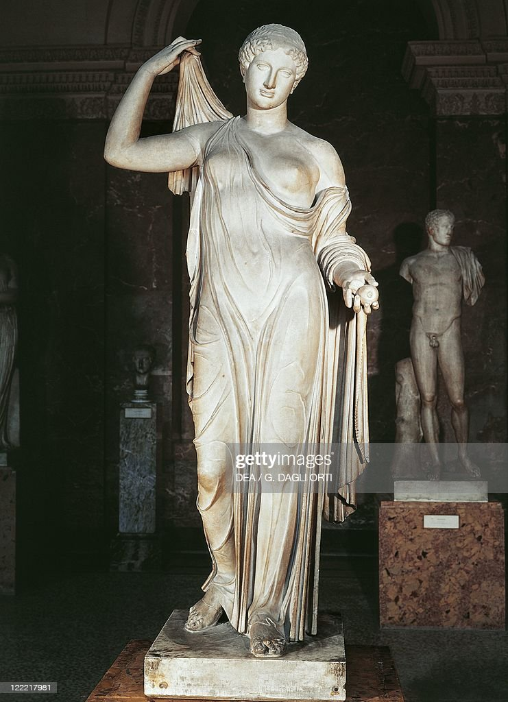 Etruscan civilization 5th century bC Statue of Aphrodite or Venus Genetrix copy of a Greek original attributed to Callimachus