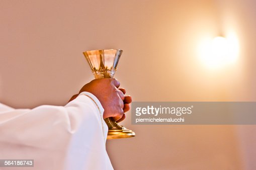 Eucharist of our Lord Jesus Christ : Stock Photo