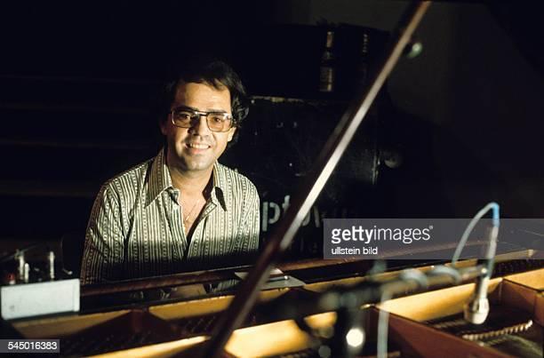 Eugen Cicero Musician Pianist Jazz Romania performing in Hamburg Germany 1977