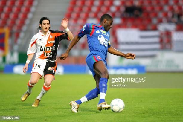Eugene EKOBO / Virgile RESET Creteil / Lorient 35e journee Ligue 2