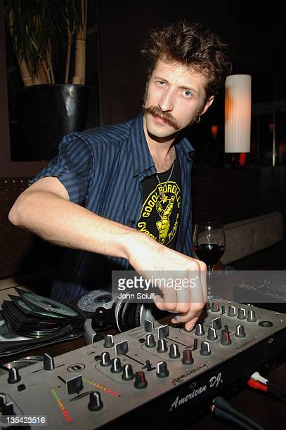 Eugene Hutz during 2005 Toronto Film Festival 'Everything Is Illuminated' Party at Habitat Dining Lounge in Toronto Ontario Canada
