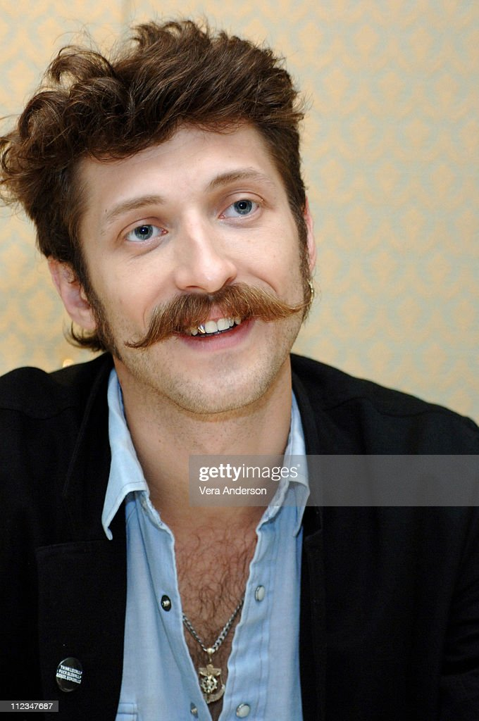 Eugene Hutz during 'Everything is Illuminated' Press Conference with Elijah Wood, Liev Schreiber and Eugene Hutz at Four Seasons Hotel in Beverly Hills, California, United States.