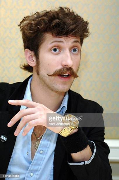 Eugene Hutz during 'Everything is Illuminated' Press Conference with Elijah Wood Liev Schreiber and Eugene Hutz at Four Seasons Hotel in Beverly...