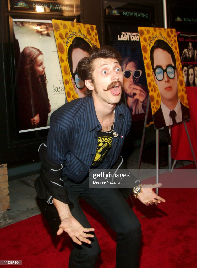 Eugene Hutz of Gogol Bordello during 'Everything is Illuminated' New York City Premiere - Arrivals at Landmark's Sunshine Cinema in New York City, New York, United States.